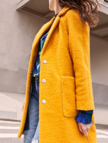 Textured Coat Outfit