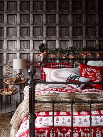 Cosy Scandi Striped Bedroom Range