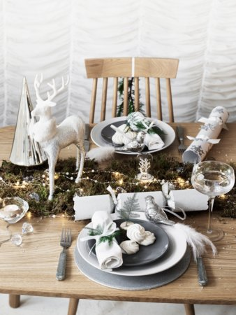 Glitter and Greys Tableware Range