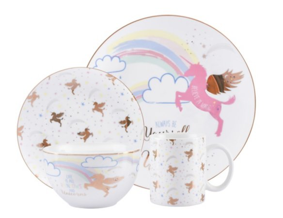 Unicorn Tableware Range