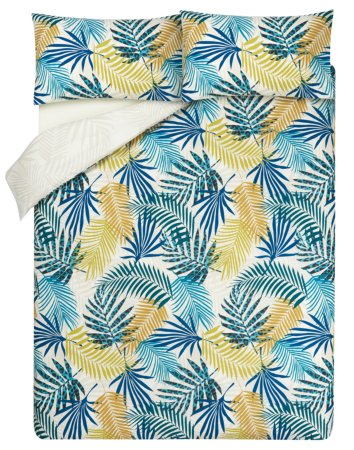 Palm Print Bedding Range