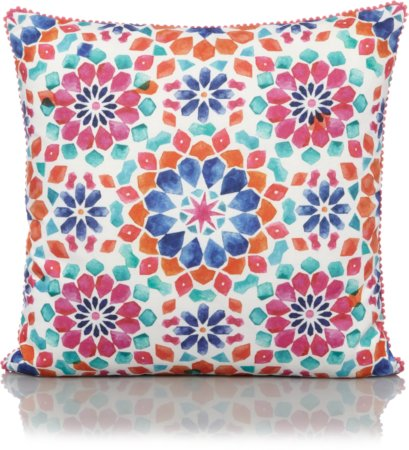 Kaleidoscope Print Cushion