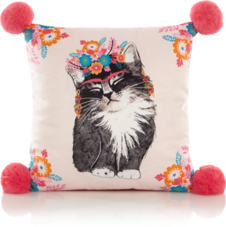 Fiesta Cat Cushion