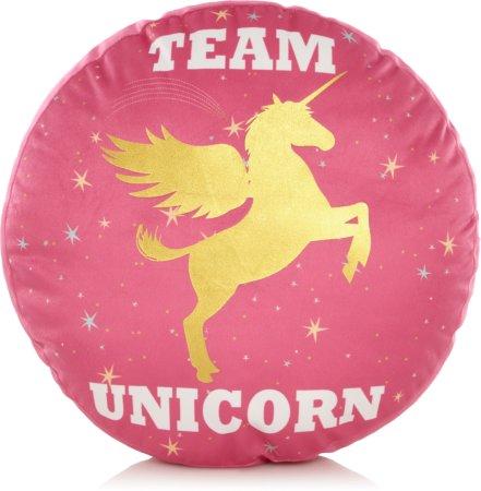 Team Unicorn Slogan Cushion