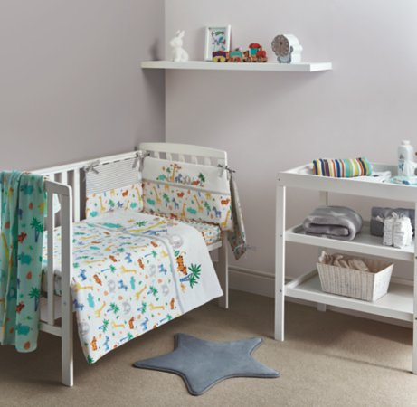 Tropical Safari Nursery Set