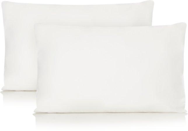 White 100% Sateen Fitted Sheet & Pillowcases Range