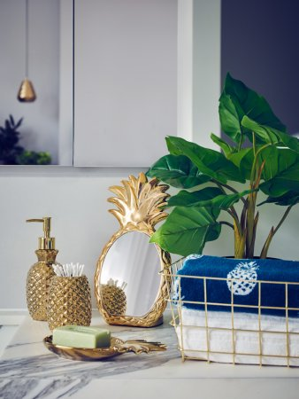 Luxe Pineapple Bathroom Range