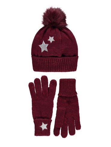 Hat & Glove Set