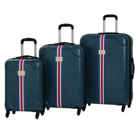 it Luggage Blue Expandable ABS 4-Wheel Case Range