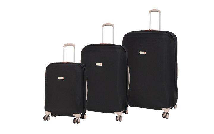 it Luggage EVA Frameless 8-wheel Expanding Spinner Suitcase Range