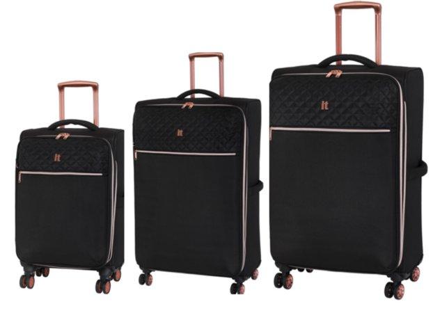 it Luggage Semi-expandable 8-wheel Suitcase Range