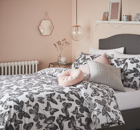 Monochrome & Copper Bedroom Range