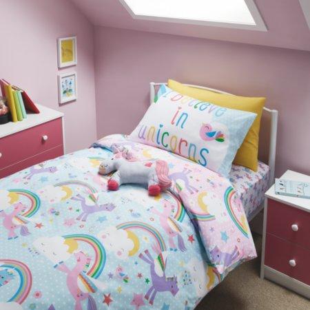 Unicorns & Rainbows Bedroom Range