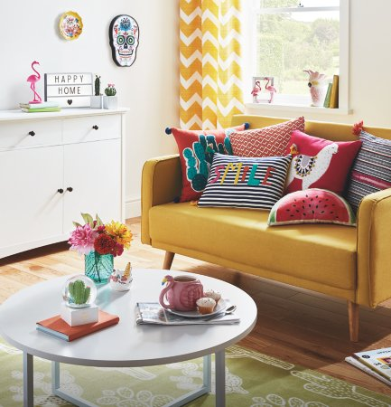 Bohemian Brights Living Room Range