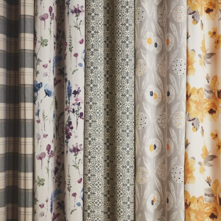 Patterned Curtain Selection