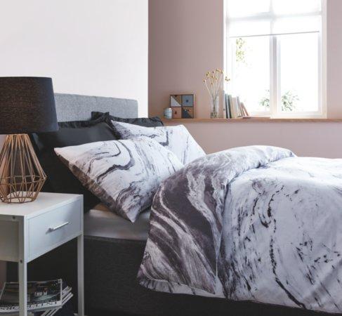 Marble Effect Bedding Range