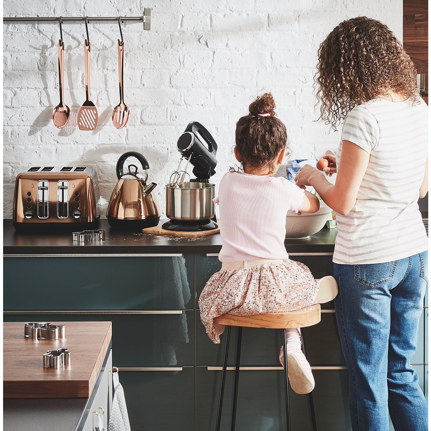 Copper Kitchenware Range Loading Zoom