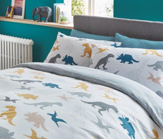 Geometric Dinosaurs Bedding Range