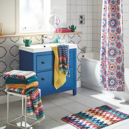 Bohemian Brights Bathroom Range