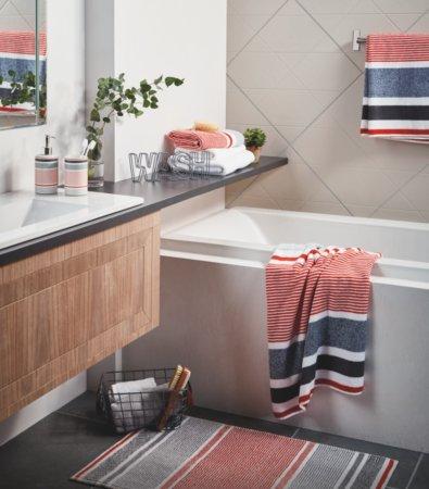 Urban Stripe Bathroom Range