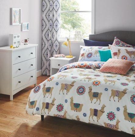 Llama Print Bedroom Range