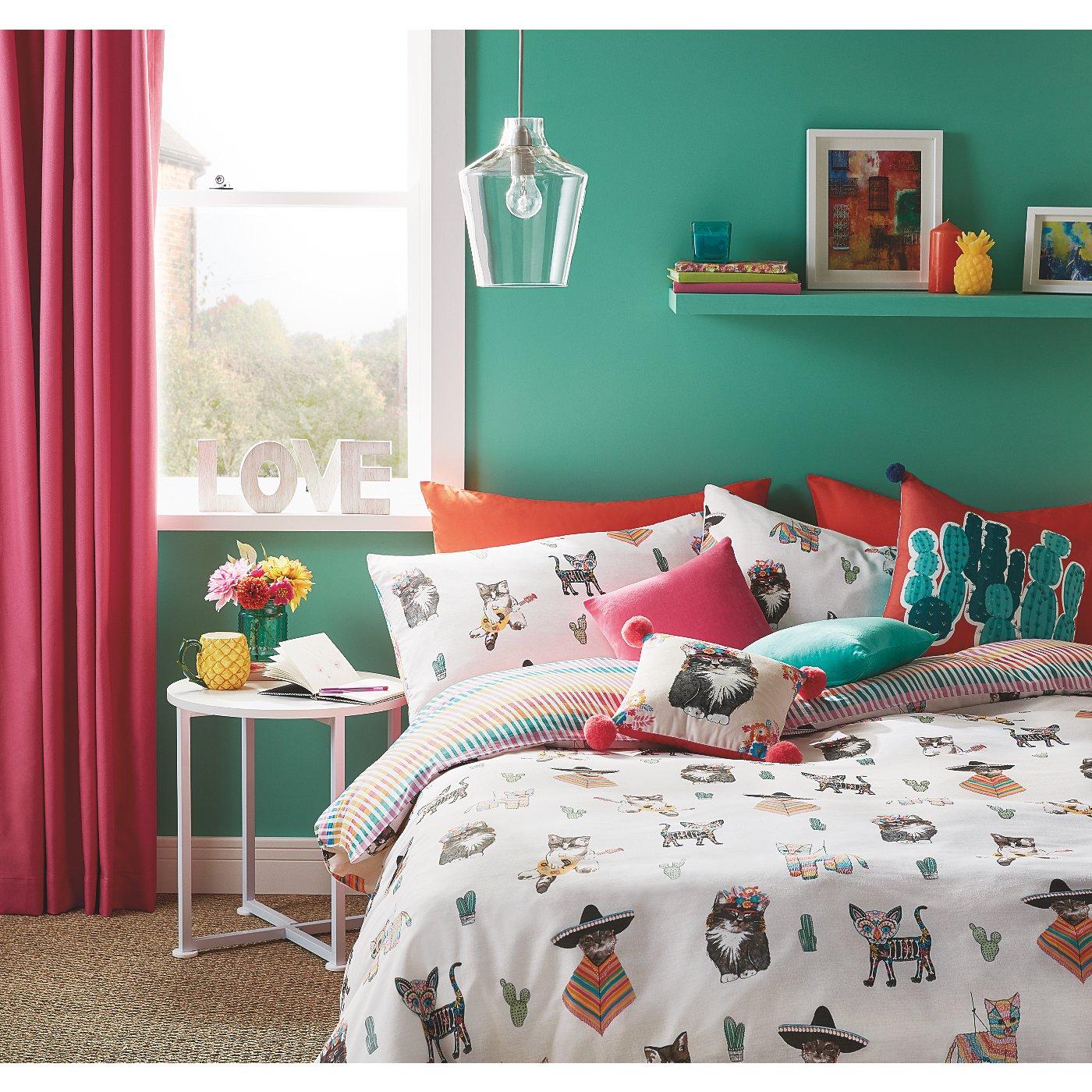 Fiesta Cats Bedroom Range   George