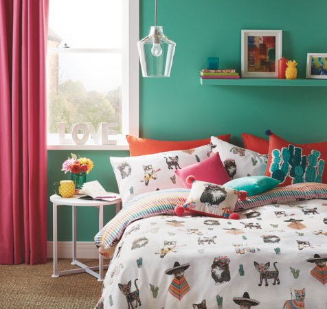 Fiesta Cats Bedroom Range