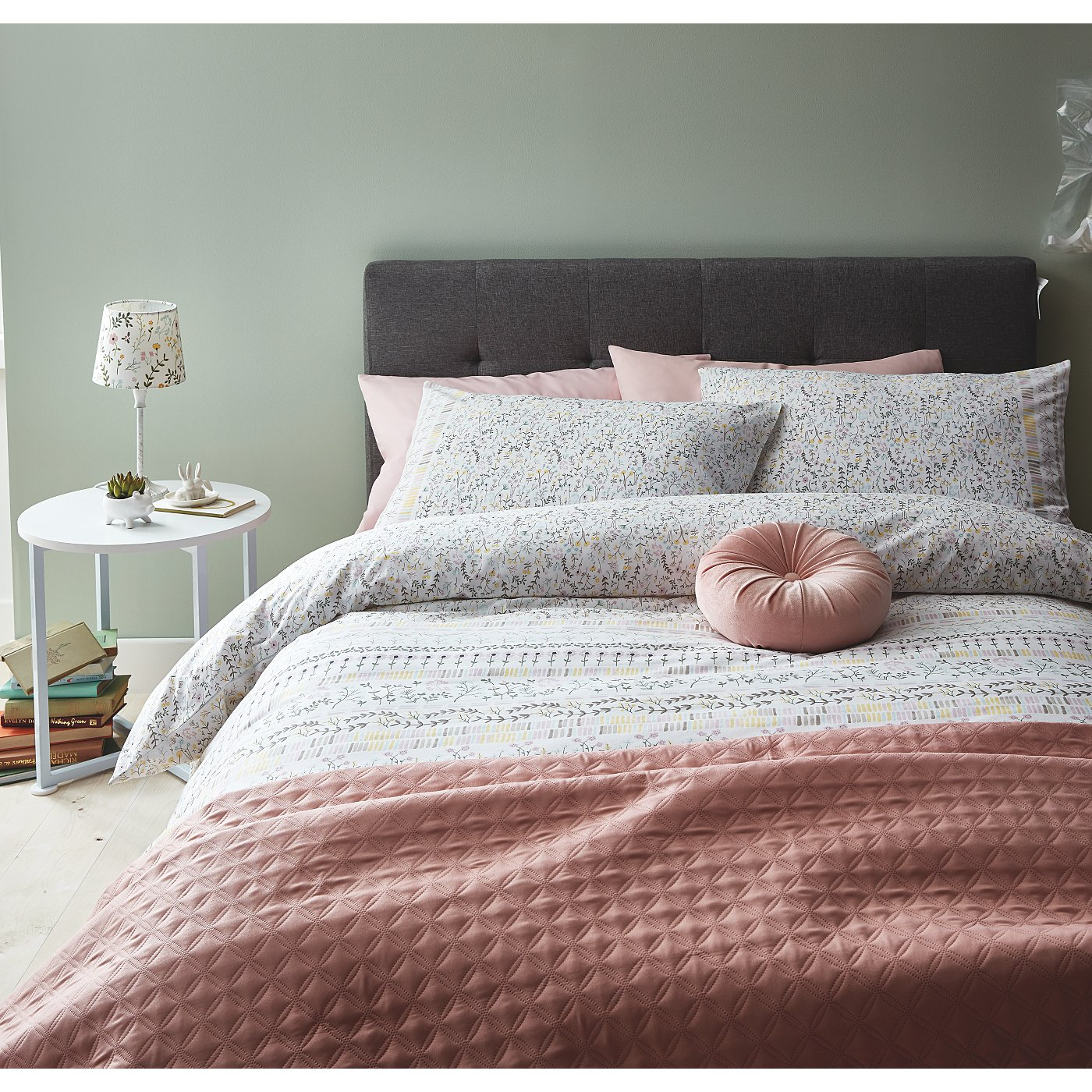 Scandi Floral Bedding Range Loading Zoom