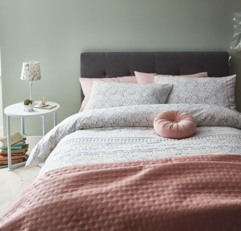 Scandi Floral Bedding Range