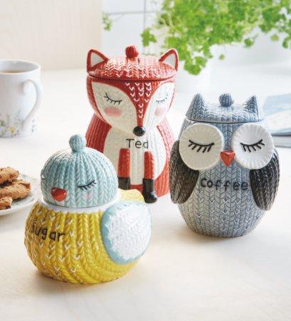 Knitted Animals Kitchen Range