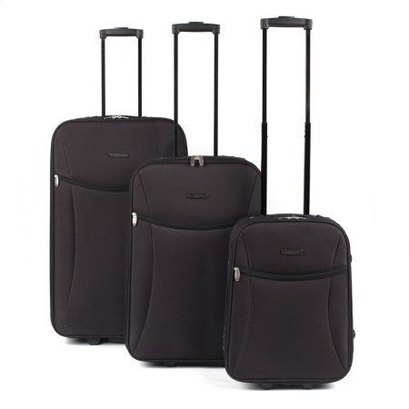 Constellation Black Eva Suitcase Range