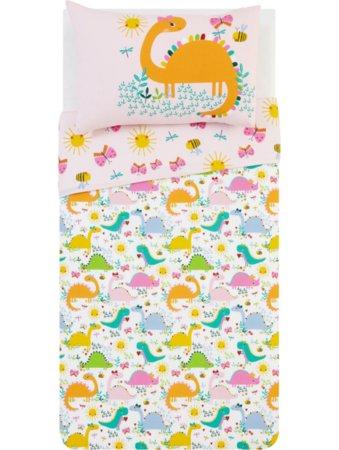 Toddler Dinosaur Girl Bedding Collection