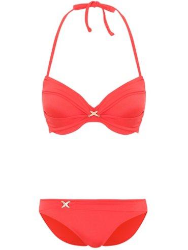 Twist Detail Bikini Set