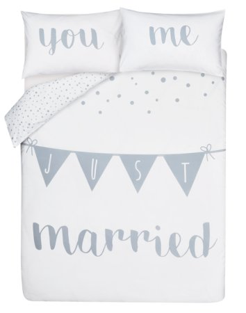 Just Married Bedding Range