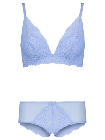Entice Lace Padded Bralet & Shorts