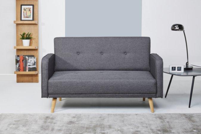 Ramona Sofa and Armchair Range - Charcoal
