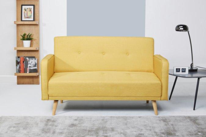 Ramona Sofa and Armchair Range - Yellow