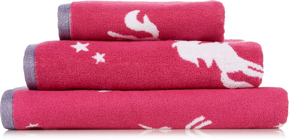 Unicorn Pink Towel Range