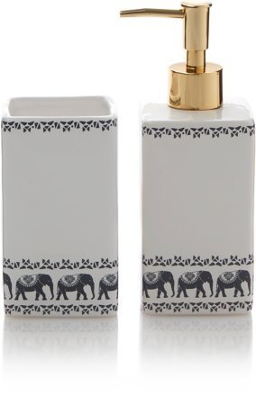 Freedom Elephant Soap Dispenser and Tumbler Range