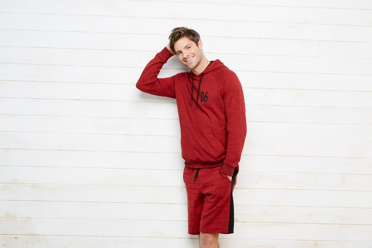Sporty Hoodie and Shorts Set