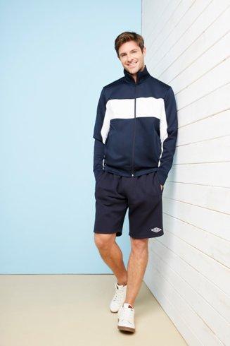 Sporty Jacket and Umbro Shorts Set