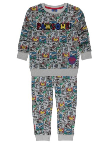 Grey PAW Patrol Sweatshirt and Joggers Outfit
