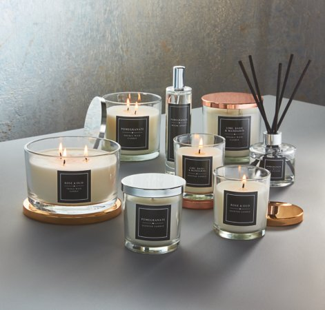 Luxury Scented Candles Range