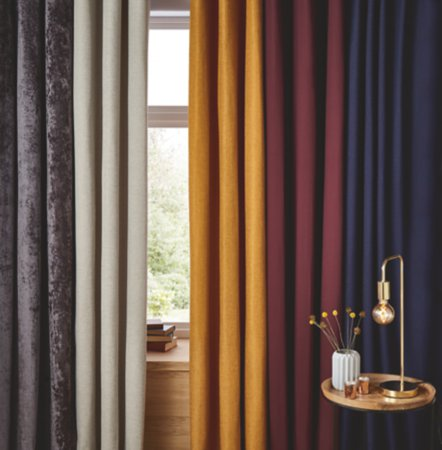 Plain Curtains Range
