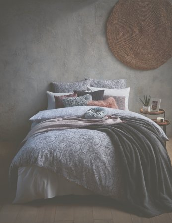 Paisley Grey Bedding Range