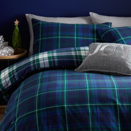Christmas Tartan Bedroom Range