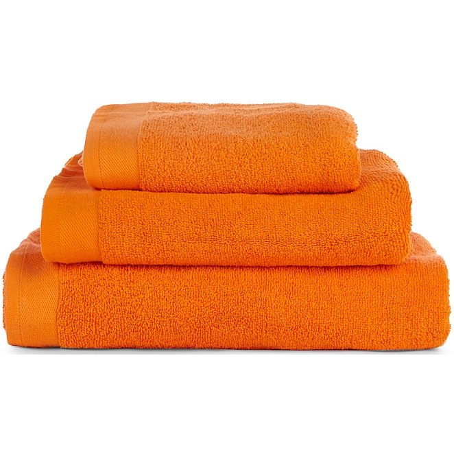 Orange Cotton Towel Range