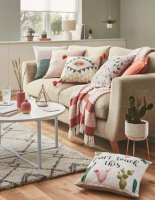 Sunbaked Living Range & Cushions \u0026 Throws | Home | George at ASDA