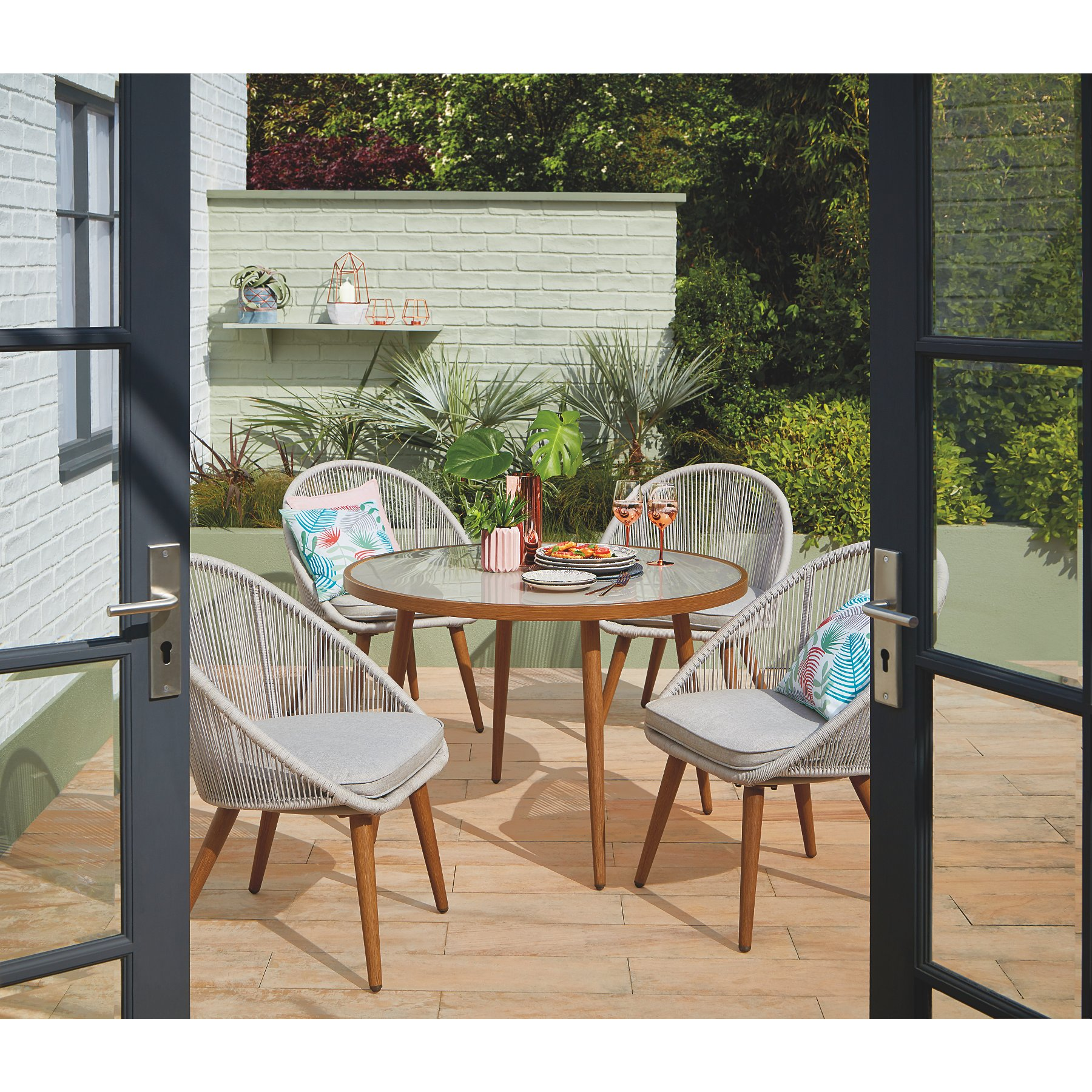 Sunbaked Nerja Outdoor Dining Range  View All Garden Furniture