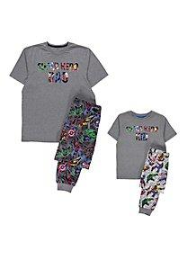ac95939ec Marvel Avengers Short Sleeve Mini Me Pyjamas